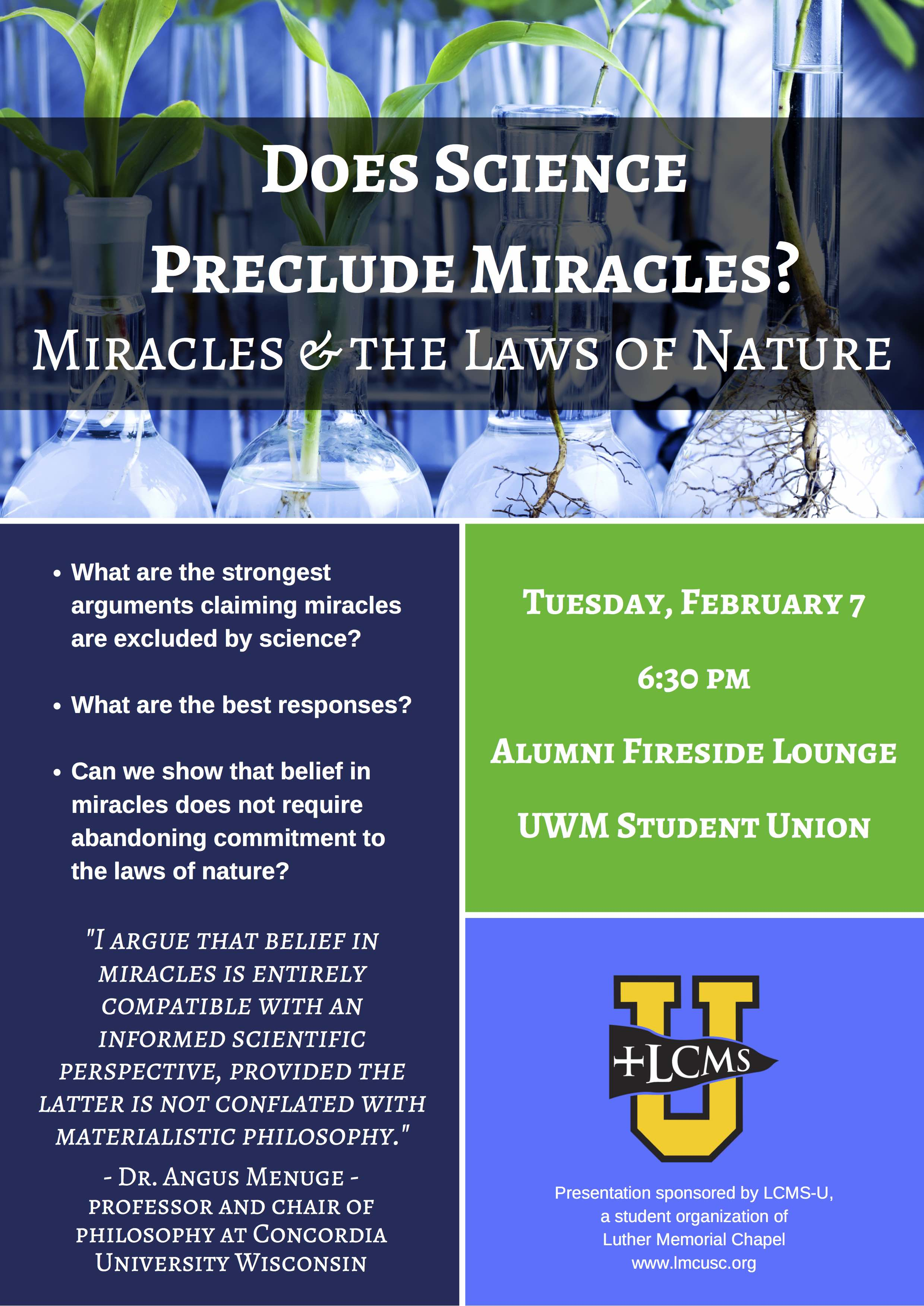 Does Science Preclude Miracles